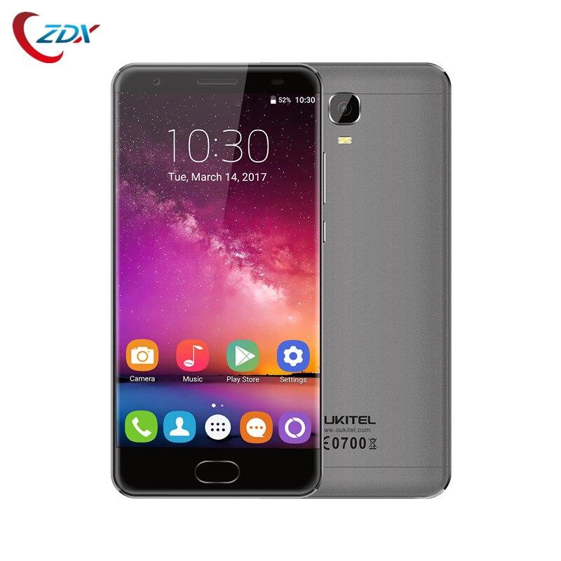 bilder für Oukitel k6000 plus 5,5 zoll fhd mtk6750t octa-core 16mp smartphone 4 gb ram 64 gb rom 12 v/2a 6080 mah batterie handy
