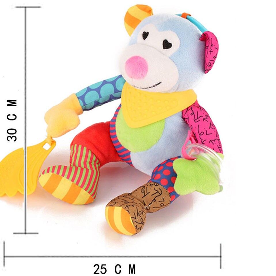 Mordedor recheado brinquedos do bebê 0 12