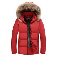 Padded 2019 Winter Hooded Coat Men Thick Warm Mens Jacket Fathers Parka Plus Asian Size L-7XL 8XL 9XL Windbreake