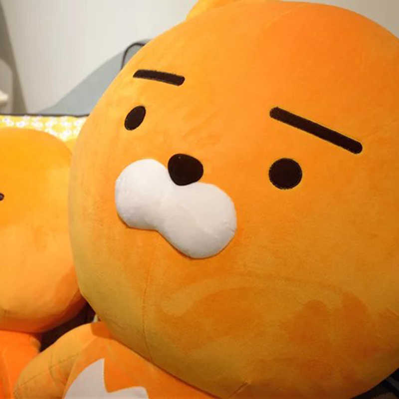 Tamanho grande boneca de RYAN kakao amigo bonito Urso de pelúcia para o amigo presente de aniversário presente Das Crianças Dos Desenhos Animados soft line brinquedos kawaii