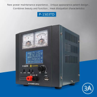 220V Digital Display DC Power Supply Regulated Power Source 0 5V/0 15V 0.5A/3A Laboratory DC Power Supply