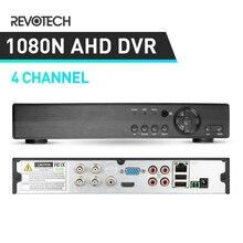 3в1 Hybird DVR 1080N 4 канала AHD DVR видео рекордер H.264 4 канала 1080P NVR для CCTV AHD камеры и IP камеры