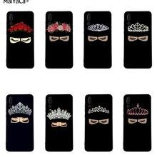 Мусульманский Исламский девичий глаз Корона чехол для телефона для huawei P20 30 Pro lite P10 plus P9 mate 10 lite 20 pro Honor 10 Y7 prime Y9
