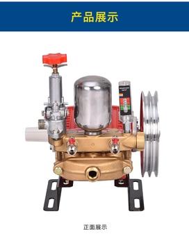 HTP pump, high pressure sprayer pump, FST-3WZ-25, garden machine sprayer, agricultural spray pump, cast iron, good quality.