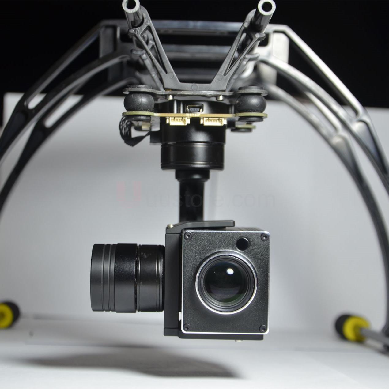 Pro 3-axis 18x 1080p Full HD Zoom PWM control Gimbal Optical Zoom Aerial Camera SPECS  Long Distance Zoom удлинитель zoom ecm 3
