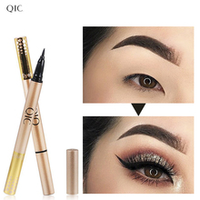 QIC NEW Black Liquid Eyeliner Long-lasting Waterproof Fast/Quick Dry Eye Liner Pen Pencil Set Makeup  Cosmetic Tool