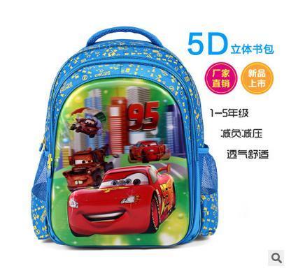 Дети 5D человек-паук школьные сумки Мультфильм человек-паук печать ранцы дети рюкзак для девочек и мальчиков, mochila infantil B03