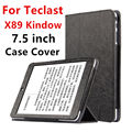 Case For Teclast X89 Kindow Protective Smart cover Protector Leather Tablet For X89 Kindow PU Sleeve 7.5 inch Cases Cover