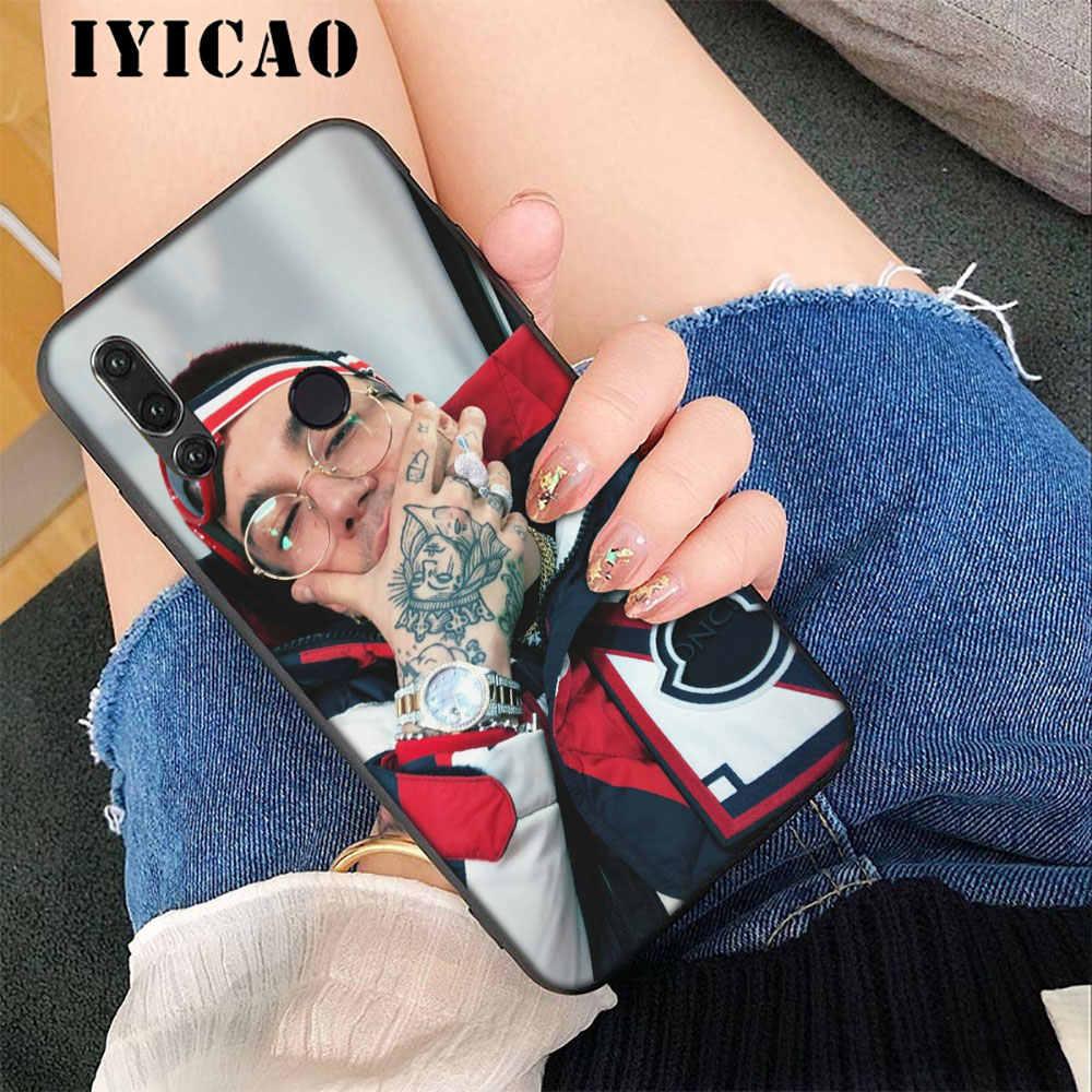 IYICAO Акилле Лауро, реперские кепки мягкий чехол для huawei 6A 7A 8X8 Lite рro 7 3g 7C 5.99in Nova 4 3 3i 2i 8C 9 10 Lite чехол