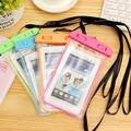 Новый Ночник Телефон Сумка Плавание Сумка Мобильный Телефон Чехол Case для Samsung S6 Для Iphone 6 Plus Xi Подводный Водонепроницаемый Телефон мешок