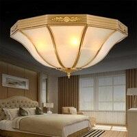 Американский Светодиодная лампа потолка Luminaria Спальня Освещение большой потолочный светильник Luminarias современный потолочный светильник