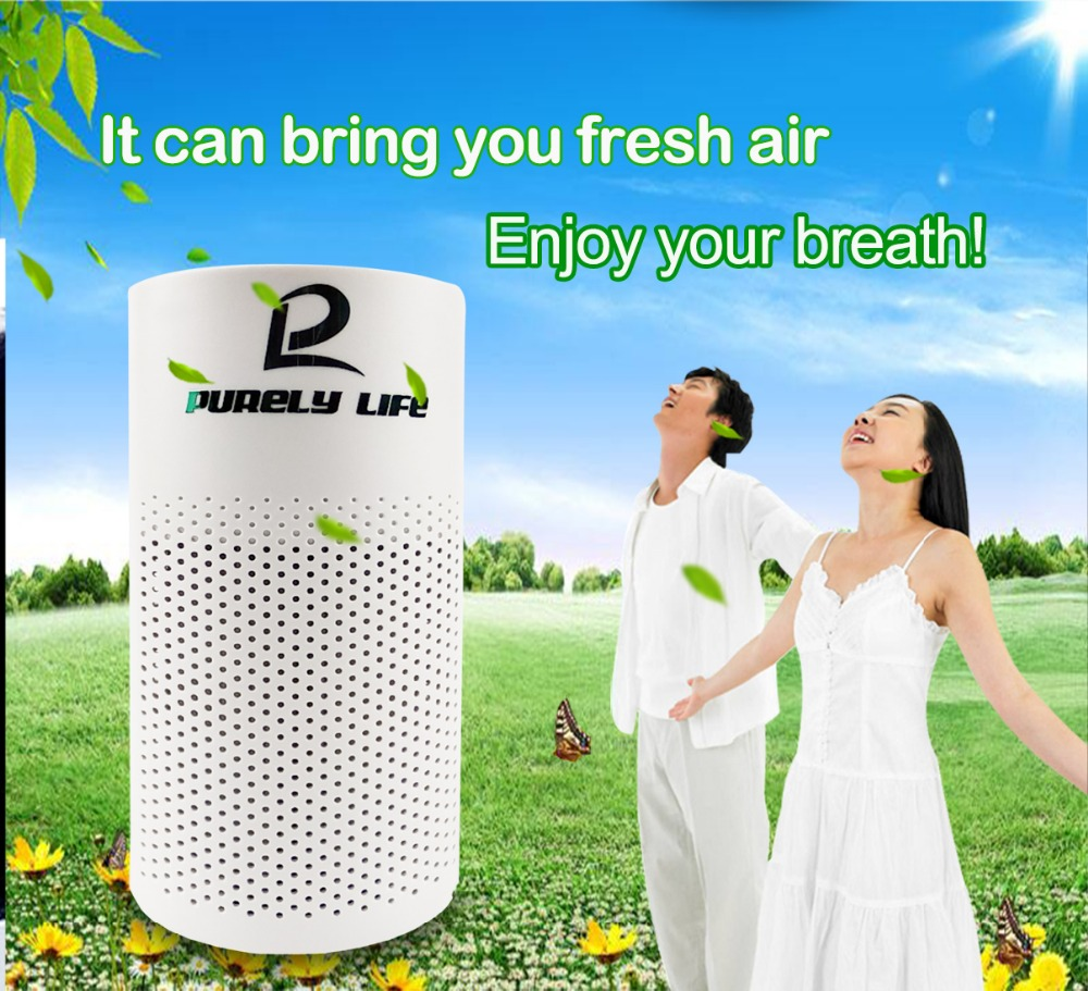 Mini-negative ion air purifier sterilization to pet odor formaldehyde dedusting vehicle-borne air purifier air cleaning cleaner dmwd 12v portable mini intelligent car air purifier odor formaldehyde pm2 5 removal anion vehicle air cleaner