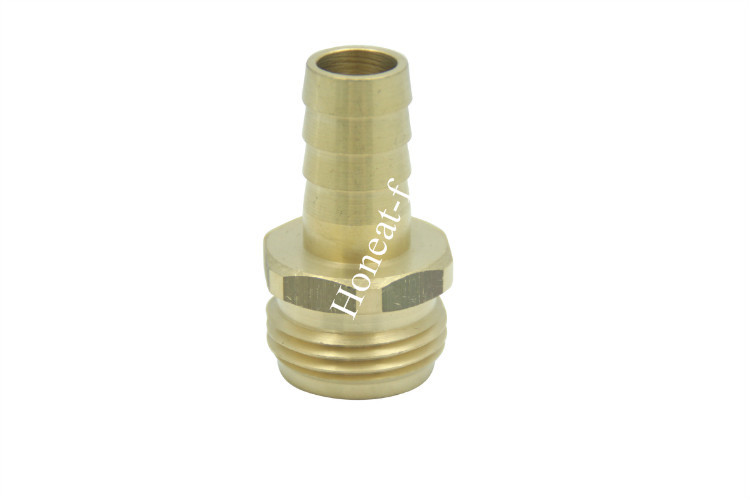 Brass 5/8 Barb x 3/4 MHT Hose Repair/Connector,Garden Hose Fitting 8pcs lot fitting use inside diameter 9 5 outside diameter 12 7mm hose 3 8id x 1 2od tubing hand compression connector fitting