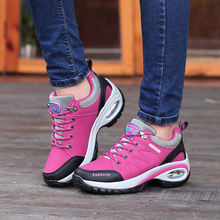 Женские уличные повседневные туфли кожаная замшевая брендовая