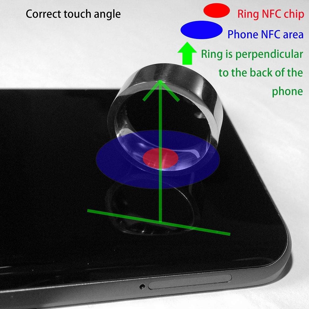 Fashionable Design Smart Ring Wearable Device NFC Magic Ring Waterproof Health Men Women Ring Jewelry