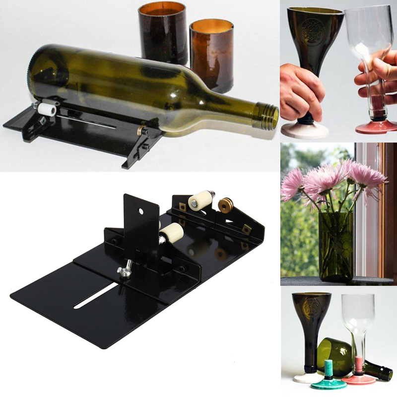 Stainless Steel Bottles Cutter Machine Wine Beer Glass Cutter DIY Decoration Tools for Consrtuction Tool плоская фляжка oem 15 diy 01 6oz wine stainless steel flask