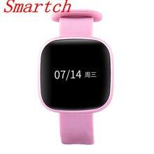 Smartch смарт-браслет Часы Приборы для измерения артериального давления Фитнес трекер Смарт-браслет сердечного ритма Мониторы шагомер Умная Электроника SMA