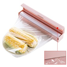 Food Plastic Cling Wrap Dispenser Preservative Film Cutter Kitchen Tool Accessories цена