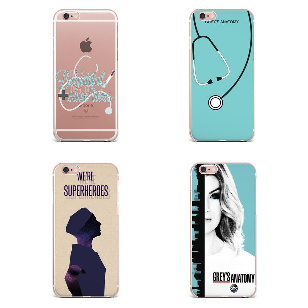 Para Fundas iPhone 6 caso 5S 6 6 S 7 8 más anatomía suave silicona ...