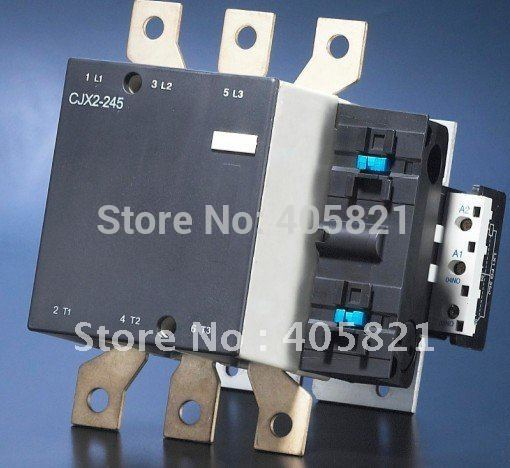 Best quality 245A AC Contactor CJX2-245 3P used for ac motor best quality ac contactor cjx2 150 150a 3p used for ac motor