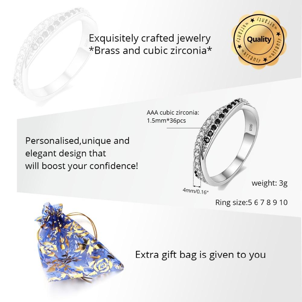 Almei μαύρο ασημένιο δαχτυλίδι χρώματος - Κοσμήματα μόδας - Φωτογραφία 3