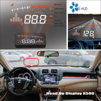 Car HUD Head Up Display For Toyota RAV4 RAV-4 RAV 4 2005~2012 - Safe Driving Screen Projector Inforamtion Refkecting Windshield image