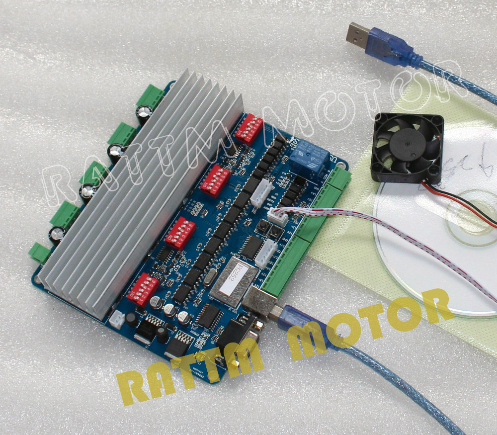 Buy new 4 axis usb cnc controller board for Cnc stepper motor controller