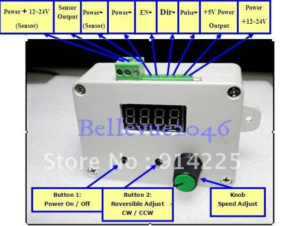 Speed control stepper motor for How to control speed of servo motor