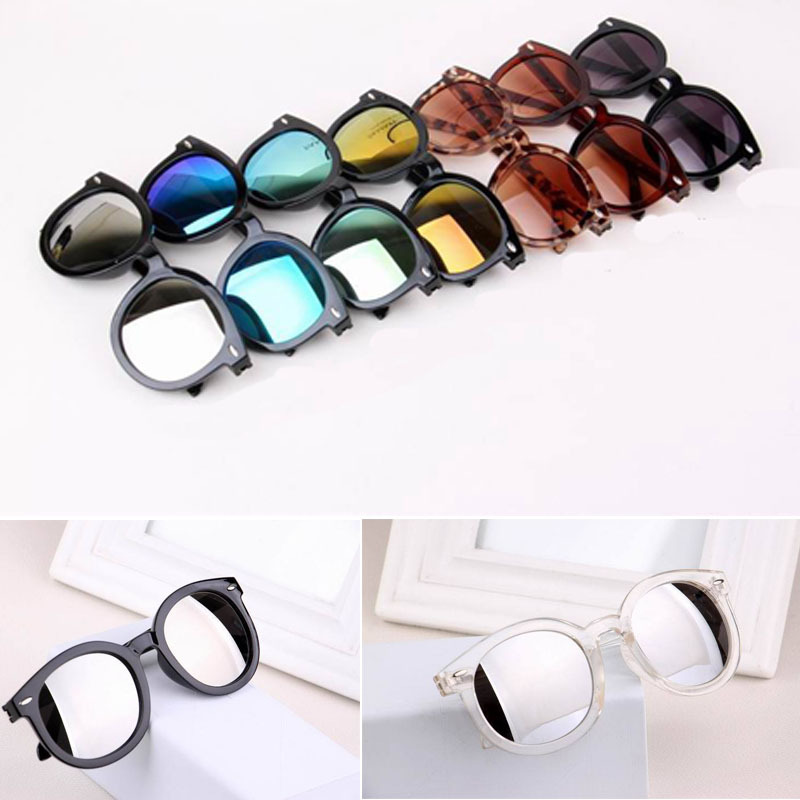 inexpensive sunglasses 6a4a  Multicolour Mercury Mirror Glasses Men Sunglasses Women Male Female Coating  Sunglass Gold RoundChina