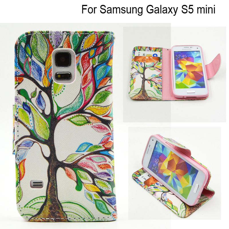 for fundas samsung s5 mini case phone wallet case for coque samsung galaxy s5 mini s5mini g800. Black Bedroom Furniture Sets. Home Design Ideas