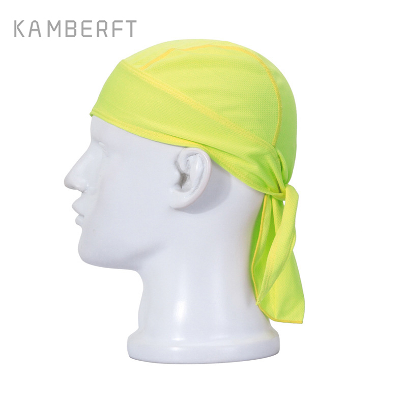 Hot Sale Quality Outdoor Quick Dry Solid Cycling Cap Men Women Head Scarf Headscarf Headband Running Riding Caps Pirate Hat