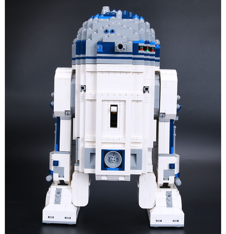 Express ship 2017 new Classic movie theme toy kids toy 2127pcs Assembled Building blocks robot toy R2-D2 Star Wars SeriesExpress ship 2017 new Classic movie theme toy kids toy 2127pcs Assembled Building blocks robot toy R2-D2 Star Wars Series