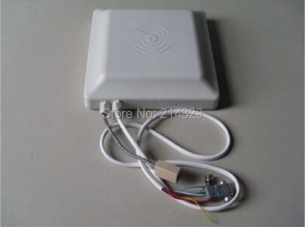 Lecteur et graveur passifs de carte à puce d'uhf RFID d'interface de Communication de 5 M tcp/ip avec RJ45/Ethernet