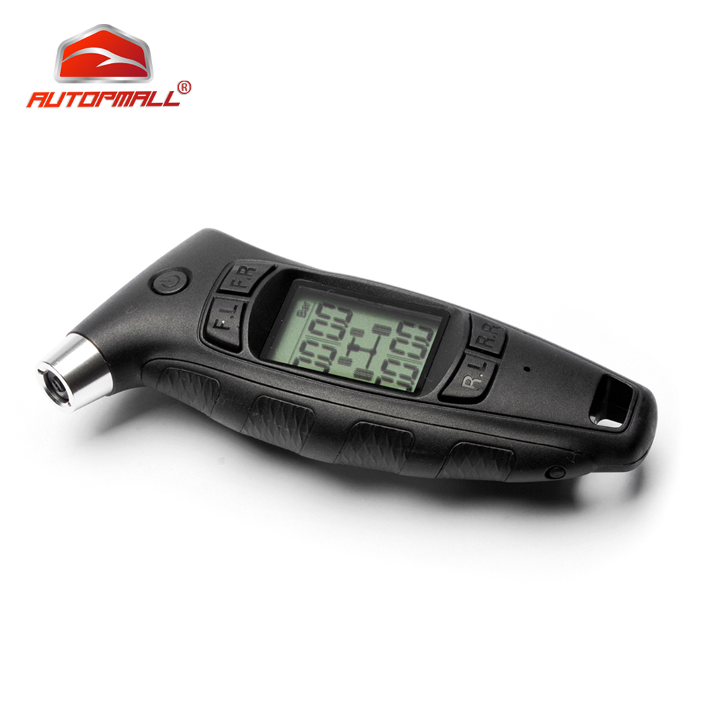 Handheld Digital Tire Pressure Gauge Steelmate TC-01 DIY TPMS Power-off Memory Function Comfort Soft-grip Ergonomic Handle