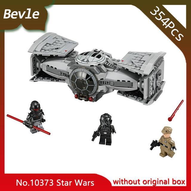 Bevle Store Bela 10373 354pcs with original box star space Series Titanium advanced Building set Blocks Compatible  75082