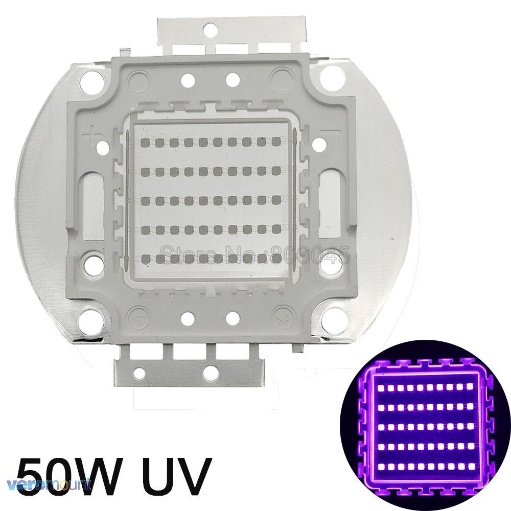 50 W haute puissance UV Ultra Violet puce 365nm-370NM, 380nm-385nm, 395nm-400nm, 420nm-425nm Source de lumière LED EPI LED s 42Mil