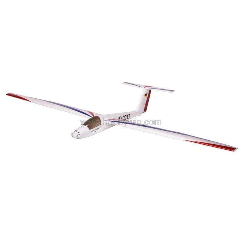 Pilatus B4 Sailplane EPS 1600mm PNP without Battery & Radio RC foam airplane Model glider plane ls8 18 sailplane eps 2000mm pnp without battery
