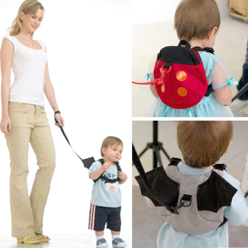 Cute Baby Kid Anti-lost Toddler Safety Harness Backpack Strap Bag Walking Wings
