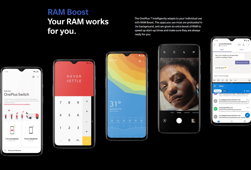 Detail Feedback Questions about Global Rom OnePlus 7 Mobile Phone