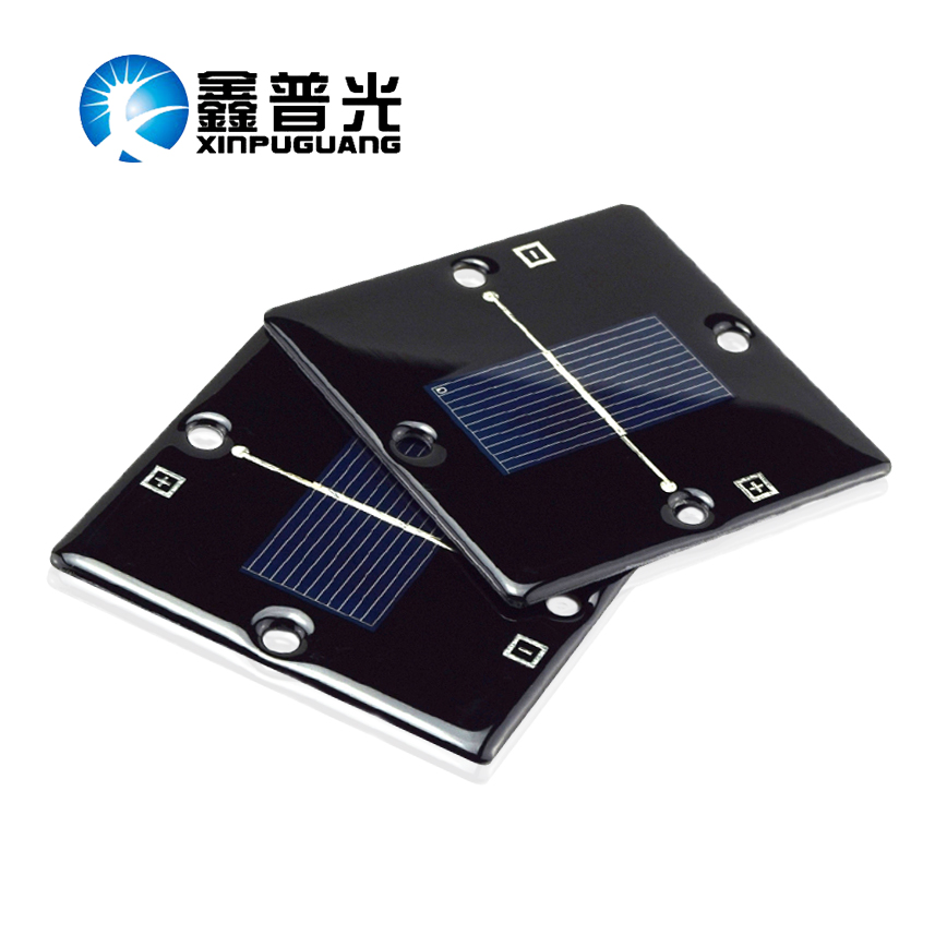 2pcs 85*85 0.5V 420mA mini thin waterproof epoxy resin solar panel kit diy toys led light mini kit energia solar panels