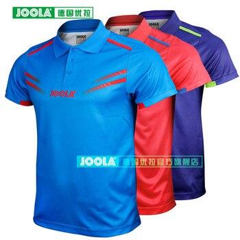 JOOLA Cologne (2018 nouveau, même Aruna Quadri & Chen Weixing) maillots de Tennis de Table T-shirts pour hommes femmes toile d'entraînement de Ping-Pong