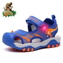 LED Dinosaur Sandals Shoes
