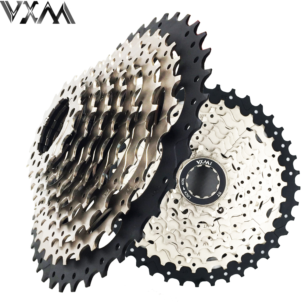 VXM Bicycle Freewheel 10 Speeds Mountain Bike Flywheel 11-40T Teeth Crankset Gear MTB Bike Cassette Flywheel Bicycle Parts