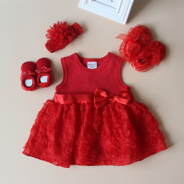 Hat+Headband Outfits SUPEYA Baby Girls Valentines Day Rompers+Heart Print Pants