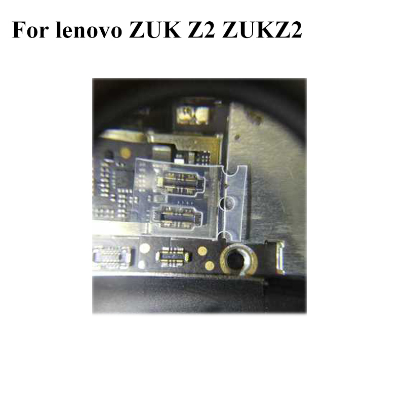 Внутренняя FPC разъем Батарея Держатель клип контакта для lenovo <font><b>ZUK</b></font> Z 2 <font><b>Z2</b></font> логики на материнской плате платы для lenovo ZUKZ2; 5 шт./лот