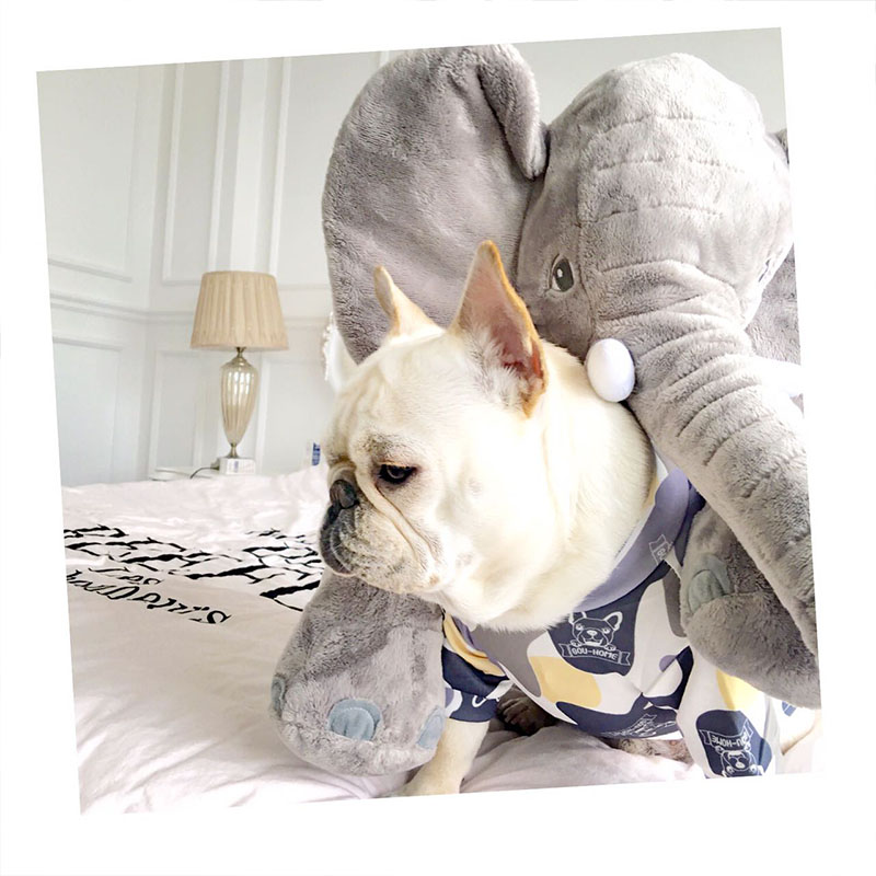 2018 New Dog Clothes for Small Dogs French Bulldog Vest Summer Pet Clothing for Chihuahua Petite Dog Clothes Puppy Apparel XS-XL