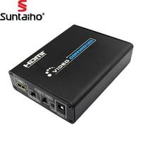 HDMI To 3RCA AV Composite S Video Converter 1080P HD Video Converter Box High Definition Multimedia