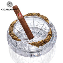 CIGARLOONG Cigar Ashtray  Living Room Decoration Oval Creative Cigarette AH-1051
