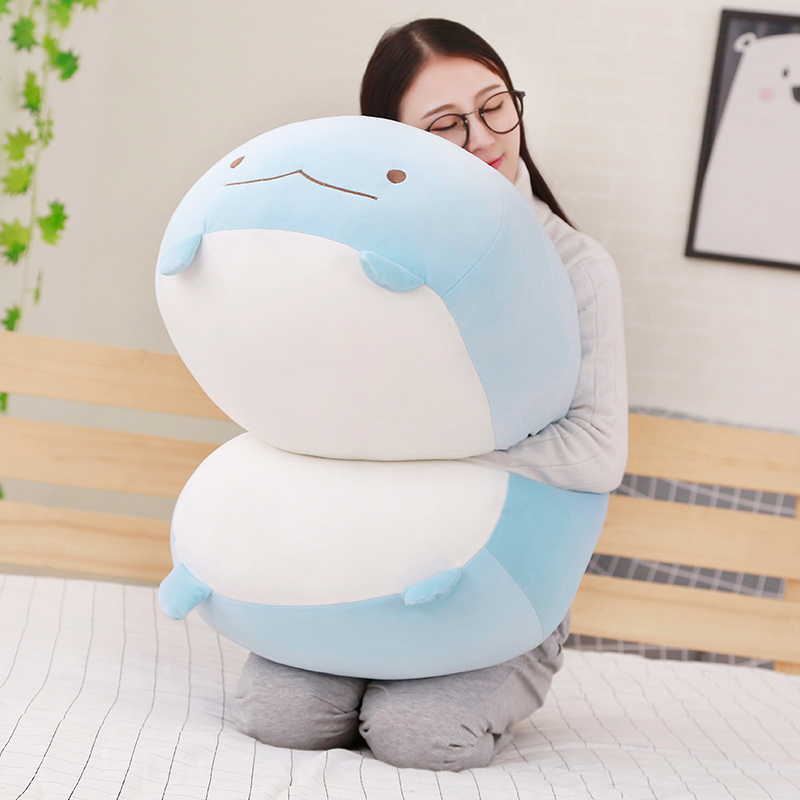 60cm Giant Corner Bio Pillow Japanese Animation Sumikko Gurashi Plush Toy Stuffed Soft Cartoon Kids Girls Valentine Gifts