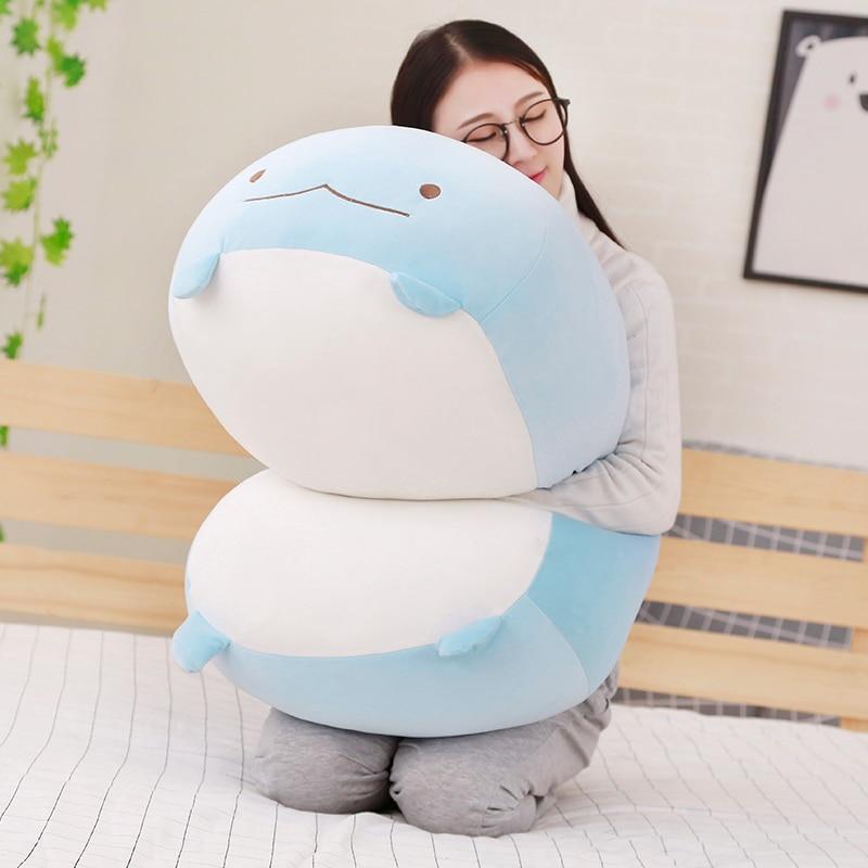 60cm Giant Corner Bio Pillow Japanese Animation Sumikko Gurashi Plush Toy Stuffed Soft Cartoon Kids Girls Valentine Gifts